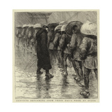 Convicts Returning from their Day's Work at Osaka Giclee Print