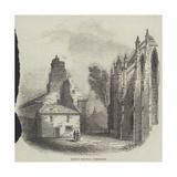 Trinity Hospital, Edinburgh Giclee Print