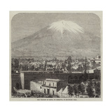 The Volcano of Misti, or Arequipa, in Southern Peru Giclee Print