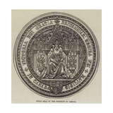 Great Seal of the Dominion of Canada Giclee Print