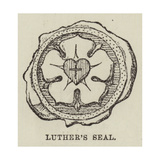 Luther's Seal Giclée-tryk