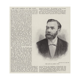 The Late Mr Alfred Nobel Giclee Print