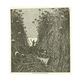 Discovery of Lake Nyassa Giclee Print