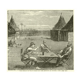 The Prison of Emin Pasha and Mr Jephson at Duffili Giclee Print