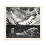 A Trip to the Pyrenees: Lac De Gaube Giclee Print