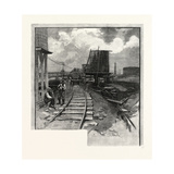 Oil Tanks, Canada, Nineteenth Century Giclee Print