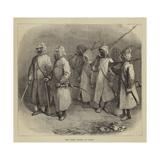 The Night Patrol at Cairo Giclee Print