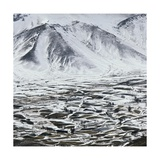 Alborz Mountain Range, Northern Iran Giclee Print