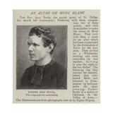 Father Jean Bonin Giclee Print