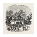 Exterior of the Circus of the Champs Elysees, Paris, France Giclee Print