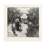 Nova Scotia, Entering Antigonish, Canada, Nineteenth Century Giclee Print