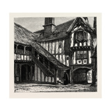 Courtyard of Leicester's Hospital, UK Giclee Print