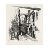 Quebec, Sous Le Cap, Canada, Nineteenth Century Giclee Print
