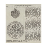 Sir Thomas More's Seals Giclee Print