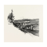 Nova Scotia, Bridges at Windsor, Canada, Nineteenth Century Giclee Print