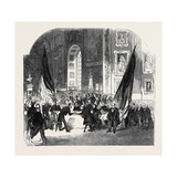 Distribution of Nelson Medals, at Greenwich Hospital Giclee Print