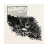 Tilmouth House, from the Banks of the Till, UK Giclee Print