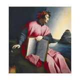 Allegorical Portrait of Dante, Late 16th Century Giclee Print