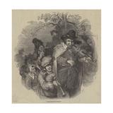 Dutch Itinerant Musicians Giclee Print