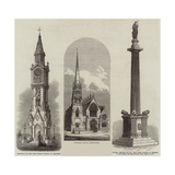 Historical Monuments Giclee Print
