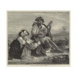 Neapolitan Fisher Family Giclee Print