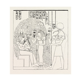 The Persea, (Relief from the Rameseum at Thebes) Egypt, 1879 Giclee Print