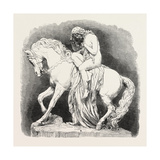 Lady Godiva (Sculpture), in the Exhibition of the Royal Academy Giclee Print