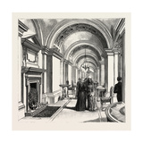 Dublin Castle, Ireland, the Corridor, 1888 Giclee Print