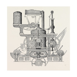 Robinson and Lee's Patent Bread Making Machine Giclee Print