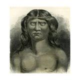 Pano Indian 1869 Peru Giclee Print