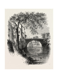 View in Hartford, Connecticut, USA, 1870s Giclee Print