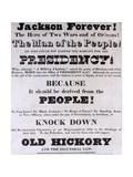 Jackson Forever', Presidential Campaign Poster Giclee Print