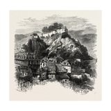 The Castle of Lourdes, the Pyrenees, France, 19th Century Giclee Print