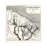 French Guiana, 1855 Giclee Print