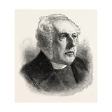 The Right Rev. Dr. Pelham, Bishop of Norwich, UK, 1893 Giclee Print
