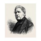 The Hon. H.J. Rous, Admiral R.N., Died June 19, 1877, Aged 82 Giclee Print