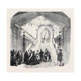 Arrival of the King of Sardinia at Windsor Castle, the Grand Staircase Giclee Print