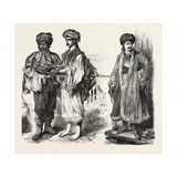 Types from Albania, Kurdistan, and Armenia, 1882 Giclee Print