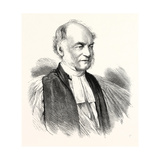 The Right Rev. Dr. Moberly, Bishop of Salisbury, 1869 Giclee Print