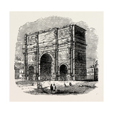 Arch of Constantine, Rome, Italy Giclee Print