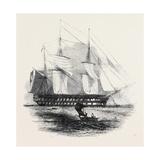H.M.S. Collingwood Giclee Print