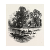 The Bells of Ousely, Scenery of the Thames, UK, 19th Century Giclee Print