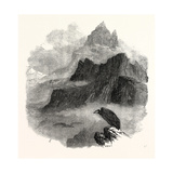 Summit of the Pic Du Midi D'Osseau Pyrenees 1854 Giclee Print