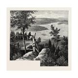 The King's View, Krokleven, Near Christiania, Oslo Giclee Print