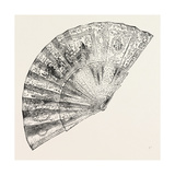 Louis XIV. Fan , 1882 Giclee Print