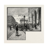 Montreal, Entrance to Notre Dame, Canada, Nineteenth Century Giclee Print