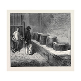 China: Stones Inscribed with Poetry in the Temple at Pekin 1873 Giclee Print