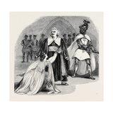 Scene from the Opera of Otello, at Her Majesty's Theatre Giclee Print