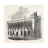 Fareham Institution Hall and Corn Exchange, 1860 Giclee Print