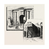Quebec, Gates of the Citadel, Canada, Nineteenth Century Giclee Print